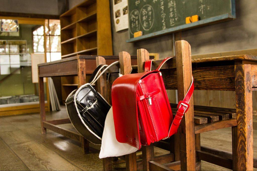 ランドセル 昔の教室
