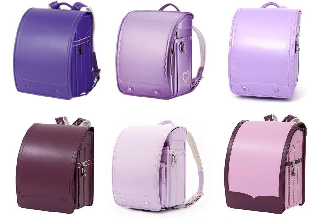 紫色・ラベンダーのランドセル