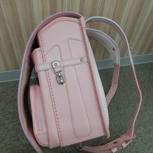 牛革・ピンク 側面