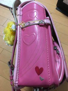 ピンクのランドセル ダメージ